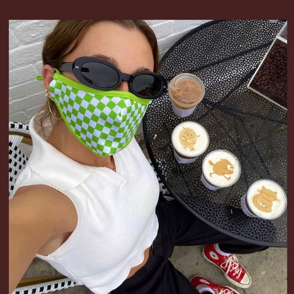 Emma Chamberlain Exclusive Face Mask from La